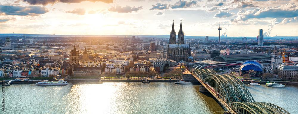 Fototapety, obrazy: Köln Panorama