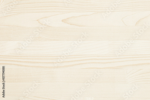 obraz dibond The light beige parquet. The wood texture. The background. The horizontal plank.