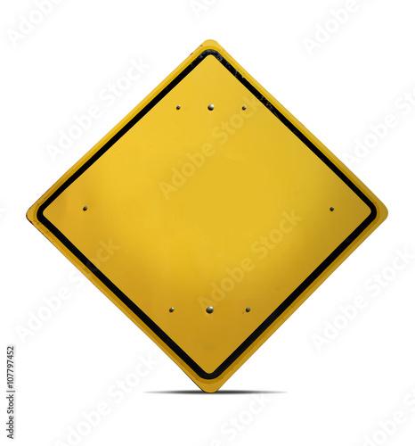 Pinturas sobre lienzo  Concept traffic road sign template