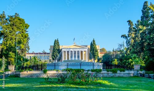 Photo Zappeion megaron neoclassical building in Athens Greece