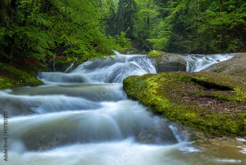 Printed kitchen splashbacks River Im Eistobel, Geotop im Westallgäu