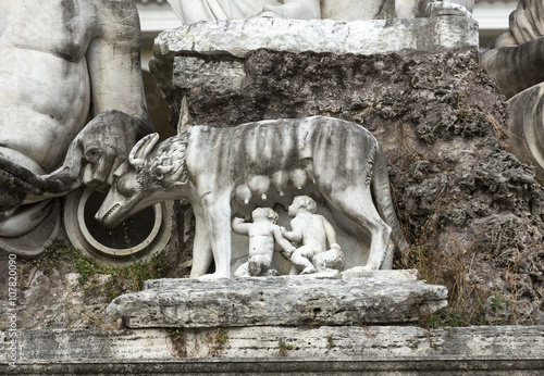 Fotografija  Rome - Piazza del Popolo