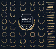 Crest Logo Element Set,Coat Of...