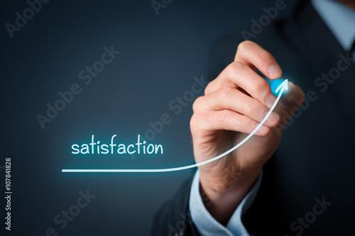 Fotografía  Increase satisfaction in business