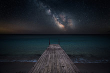 Milky Way Over Che Seashore An...