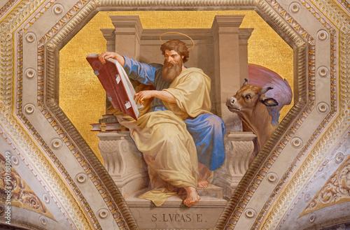 Cuadros en Lienzo Rome - The fresco of St