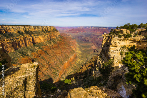 Fotobehang Canyon Amazing view of the grand canyon national park, Arizona. It is one of the most remarkable natural wonders in the world.
