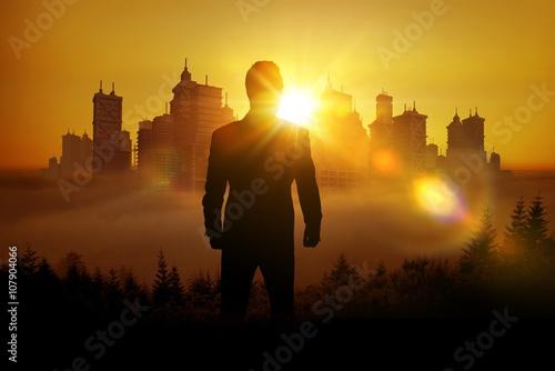 Photo  Entrepreneur Vision Concept