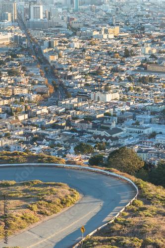 Keuken foto achterwand Seoel skyline of San Francisco
