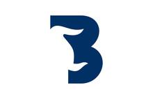 Logo Letter B Bull