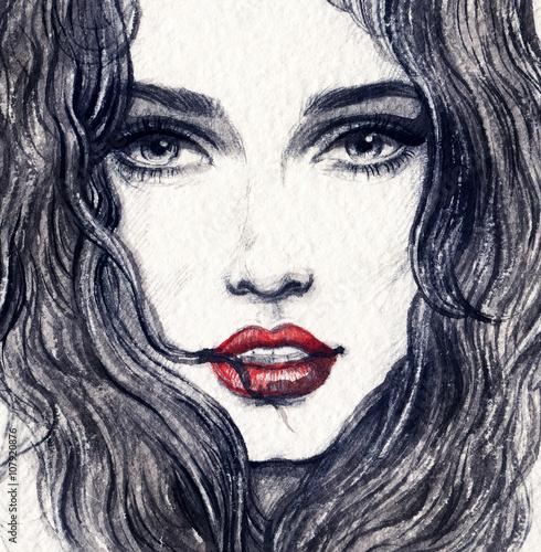 twarz-kobiety-ilustracja-moda