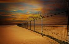 Kuwait Border Fence