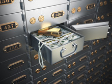 Open Safe Deposit Box With Mon...