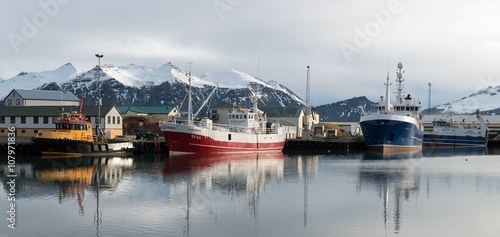 Hofn Fishing Harbor, Iceland