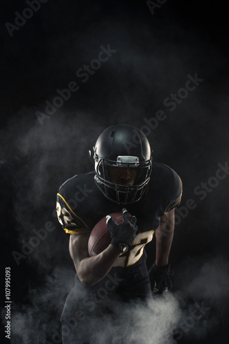 Juliste  African American Football Player