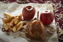 Carmel Candy Apples