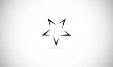 Star, Logo, Vector, Icon, Conc...