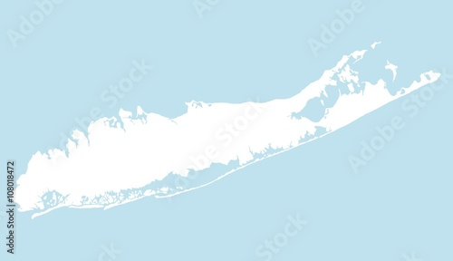 фотография  Map of Long Island