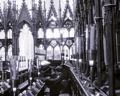 Cadres-photo bureau Illustration Paris Winchester Cathedral Choir