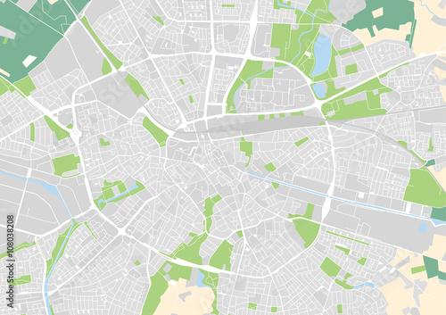 vector city map of Eindhoven, Netherlands – kaufen Sie diese ...