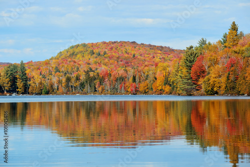 Canvas Prints Autumn Lake Autumn Foliage