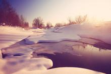 March On The Creek Snow Ice Wa...