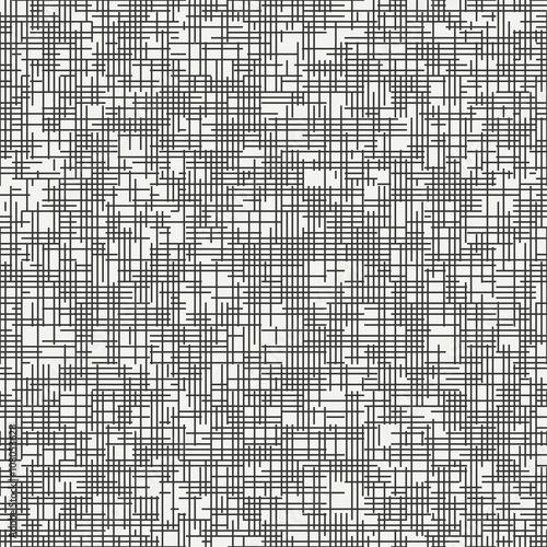 Tablou Canvas Geometric abstract seamless discrete pattern