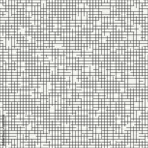 Valokuvatapetti Geometric abstract seamless discrete pattern