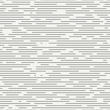 Geometric Abstract Seamless Discrete Pattern. Wrapping Paper. Scrapbook. Tiling. Vector Illustration. Background. Graphic Dashed Strokes Texture. Fine Ripple Structure. Seamless Monochrome Pattern.