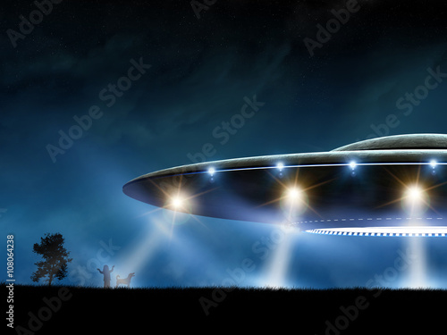Photo  Flying saucer
