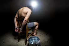 Prisoner Being Punished With C...