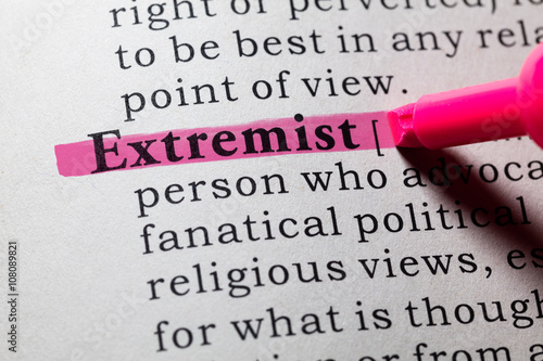 Definition Of Extremist