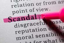 Definition Of Scandal