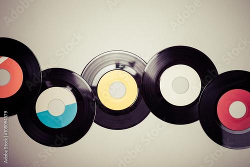 Fotografía  コピースペース,古いレコード
