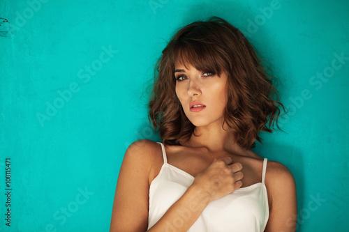 Fotografie, Obraz  Beautiful tender woman