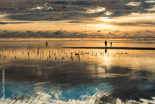 Deurstickers Zanzibar Amazing sunrise in Zanzibar
