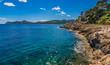 Panorama Coastline Spain Majorca Cala Ratjada