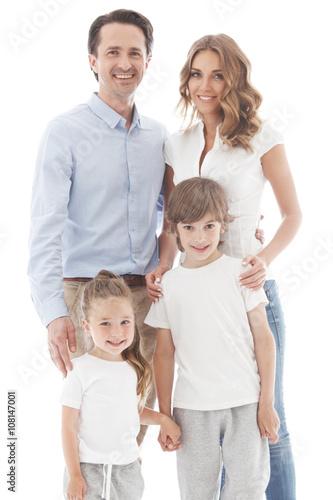 Plakat Szczęśliwa rodzina