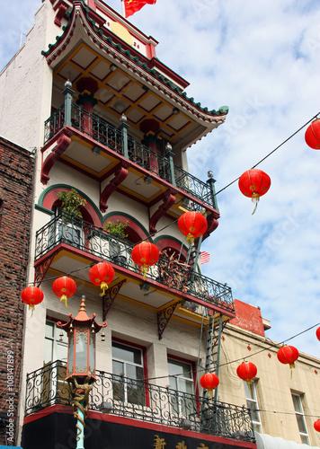 Les lanternes de Chinatown à San Francisco