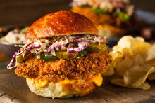Southern Country Fried Chicken Sandwich