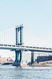 Manhattan Bridge w Nowym Jorku Stany Zjednoczone Ameryka - 108208417