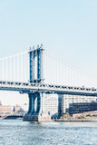 Manhattan Bridge in New York City United States America - 108208417
