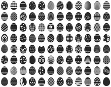 Easter Eggs Vector, Easter Eggs, Eastrer Eggs Vector, Easter Eggs Image, Easter Eggs Silhouette, Easter Egg Icon, Easter Egg Element, Easter Egg Flat