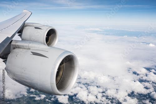 Tela  Boeing 747 Jumbo Wing
