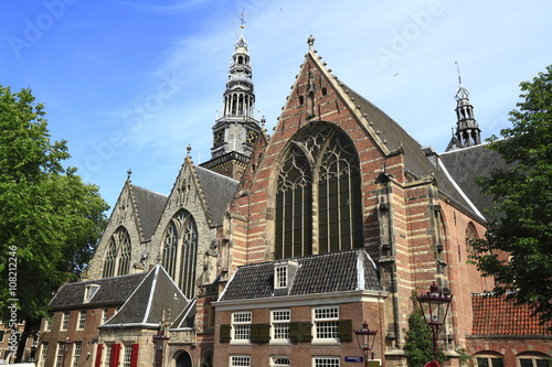 Photo  The Oude Kerk Church, Amsterdam