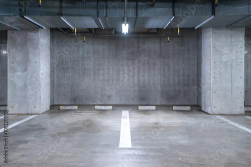 Parking garage underground Fototapete