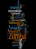 Zumba Fitness, word cloud concept 8