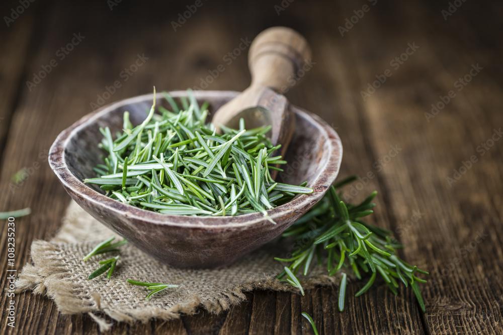 Fototapety, obrazy: Portion of fresh Rosemary
