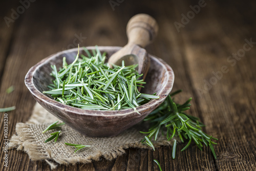 Portion of fresh Rosemary
