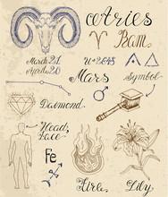 Full Set Of Symbols For Zodiac...